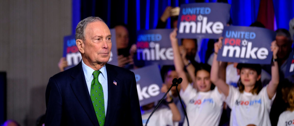 Michael Bloomberg, the billionaire media mogul and former New York City mayor, now Democratic candidate hosts a kick off 'United for Mike' at the Aventura Turnery Jewish Center and Tauber Academy Social in Miami, Florida, U.S., Jan. 26, 2020. REUTERS/Maria Alejandra Cardona
