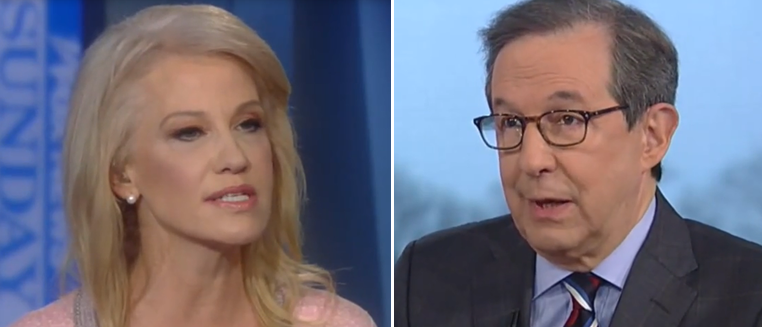 Chris Wallace Puts Kellyanne Conway On The Spot: 'Why Was Stop And Frisk Tremendous Then And It's Racist Now?'