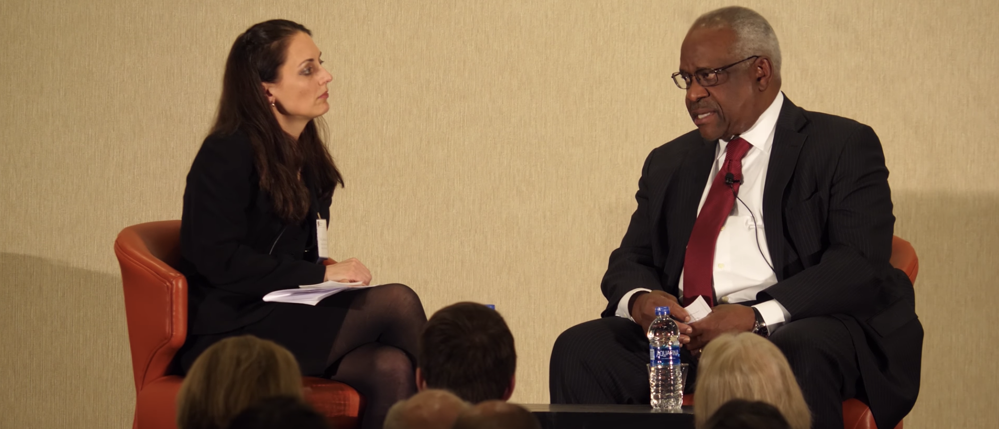 Clarence Thomas Warns Of Bid To 'Silence' Federalist Society With New Ethics Rule