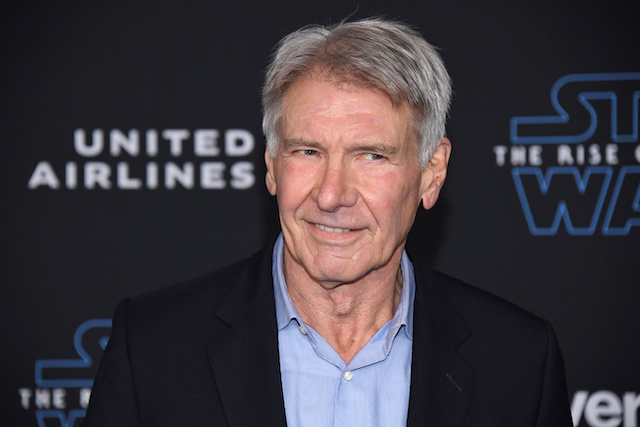 """Harrison Ford attends the premiere of """"Star Wars: The Rise of Skywalker"""" in Los Angeles, California, U.S. December 16, 2019. REUTERS/Phil McCarten"""