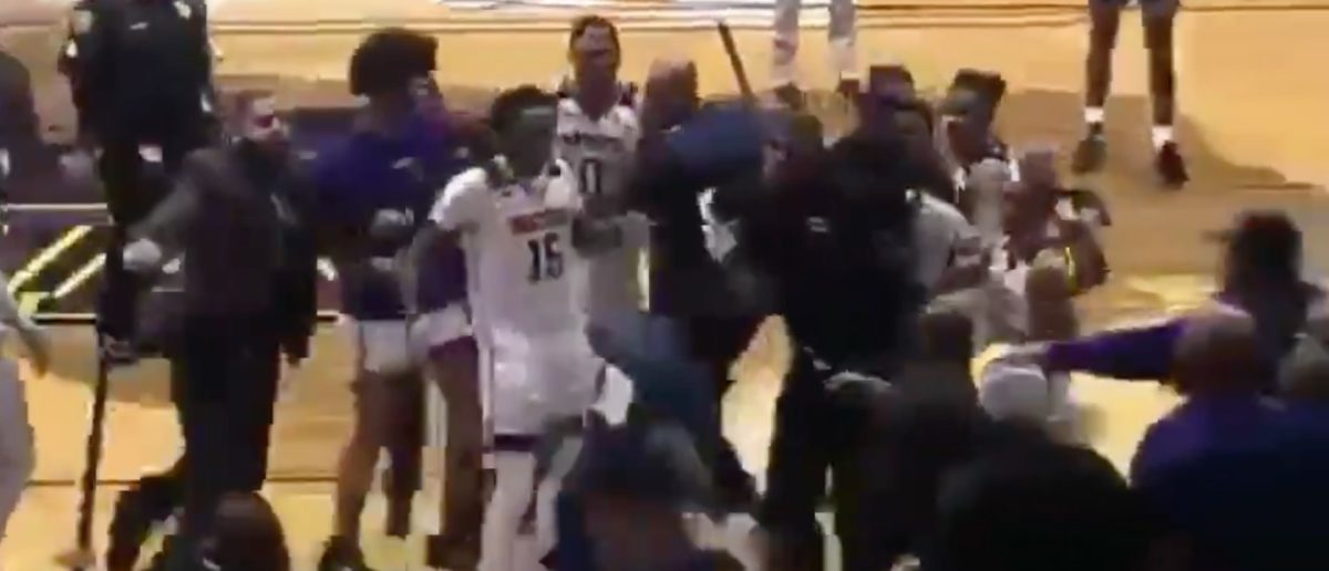 Prairie View A&M And Jackson State Get Into Brawl During Basketball Game
