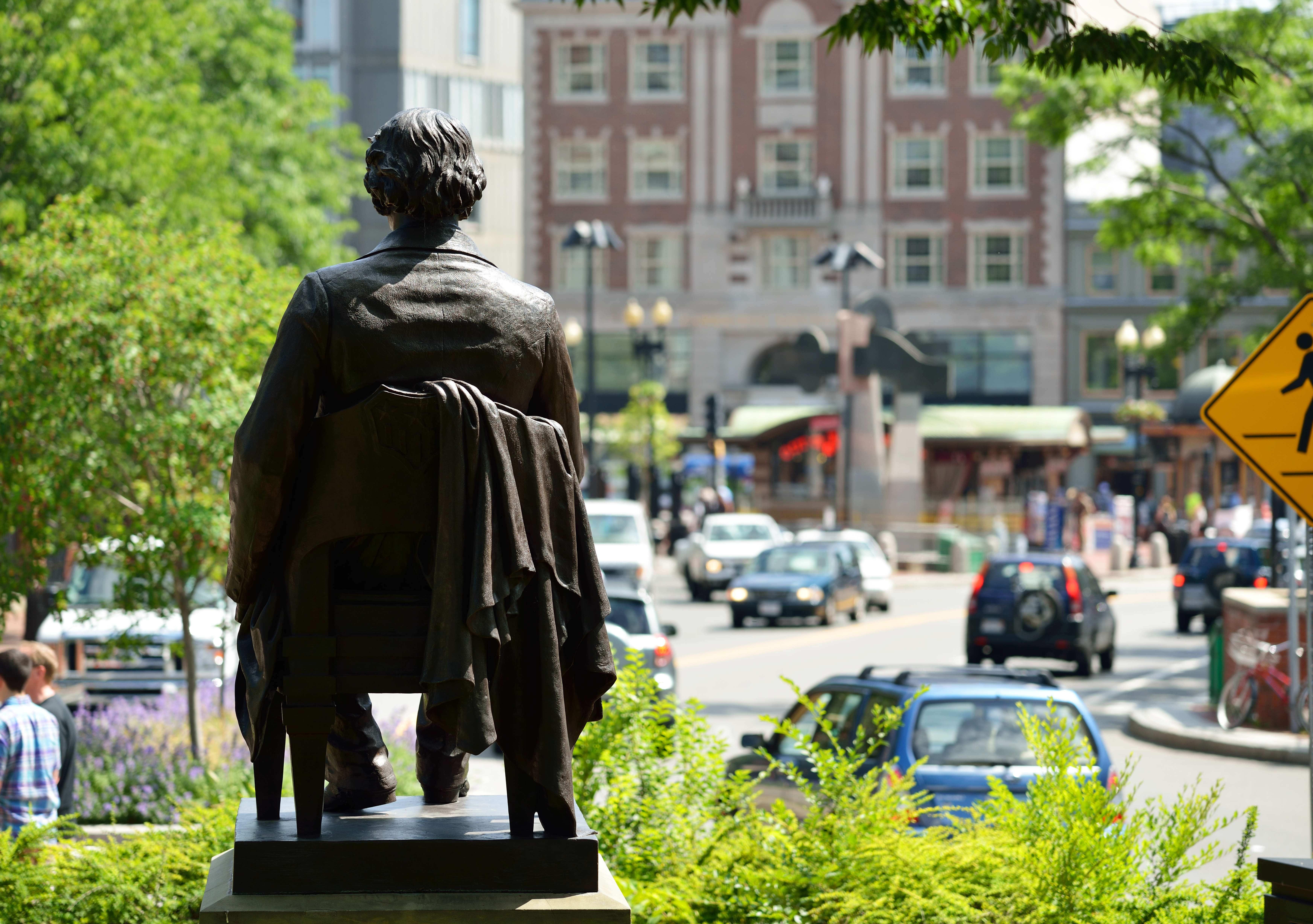 John Harvard Statue. Shutterstock