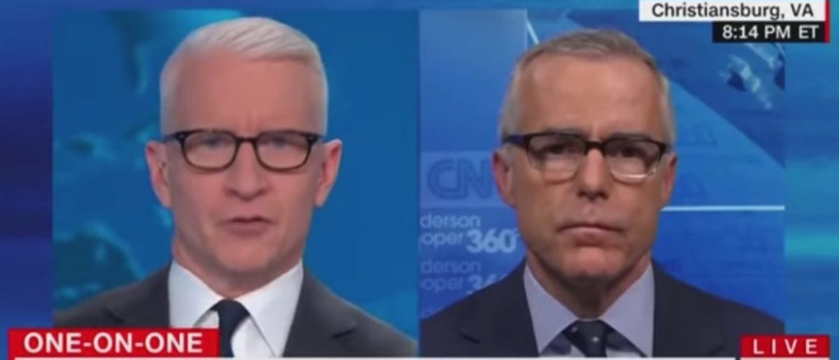 McCabe Says He Was 'Unfairly Branded A Liar,' Blames Trump For His Firing