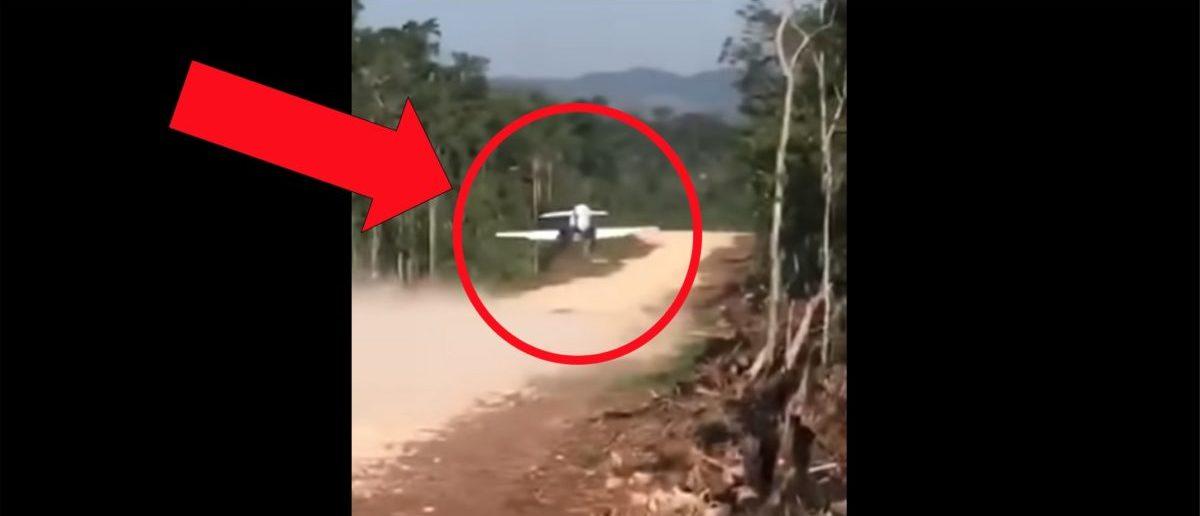 Guatemalan Air Force Pilot Flies Narco Jet Off Of Dirt Runway In Incredible Video