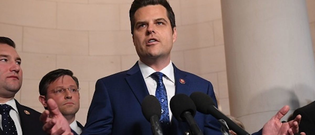 Matt Gaetz Hires Legislative Counsel From Democratic Impeachment Manager