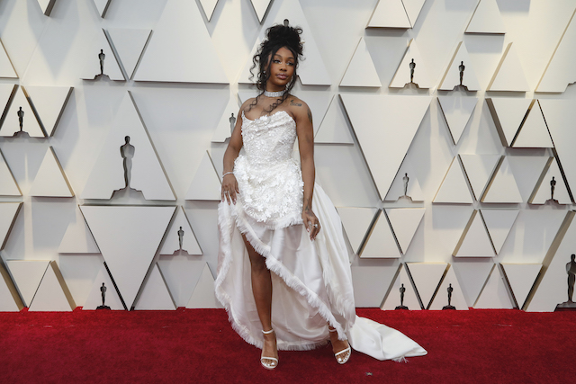 91st Academy Awards - Oscars Arrivals - Red Carpet - Hollywood, Los Angeles, California, U.S., February 24, 2019. Sol·na Imani Rowe, Singer known as SZA. REUTERS/Mario Anzuoni