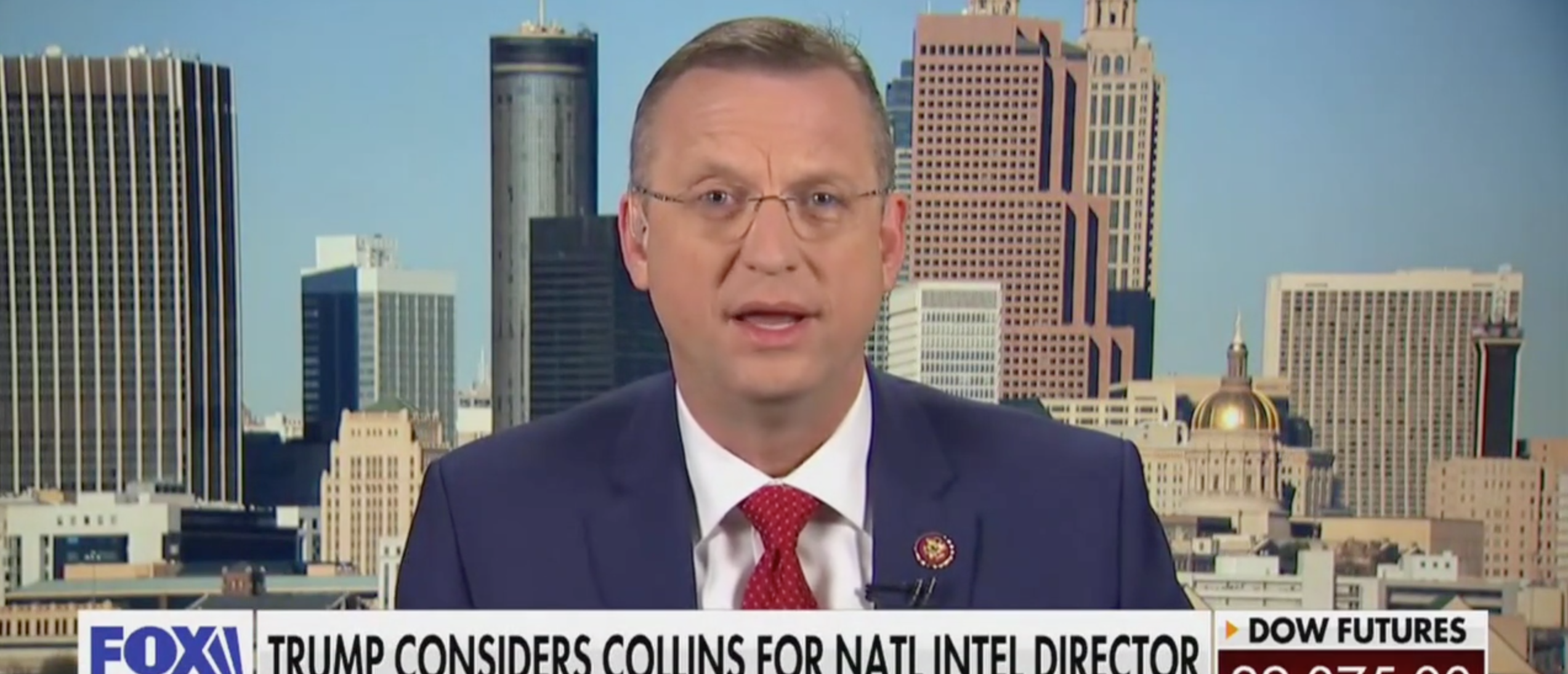 'Not One I Would Accept' — Georgia Rep. Doug Collins Says He Doesn't Want Trump's Top Spy Nomination