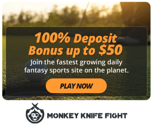 Make a deposit today and get your initial deposit matched with a bonus you can use for future contests! (Photo via MonkeyKnifeFight)