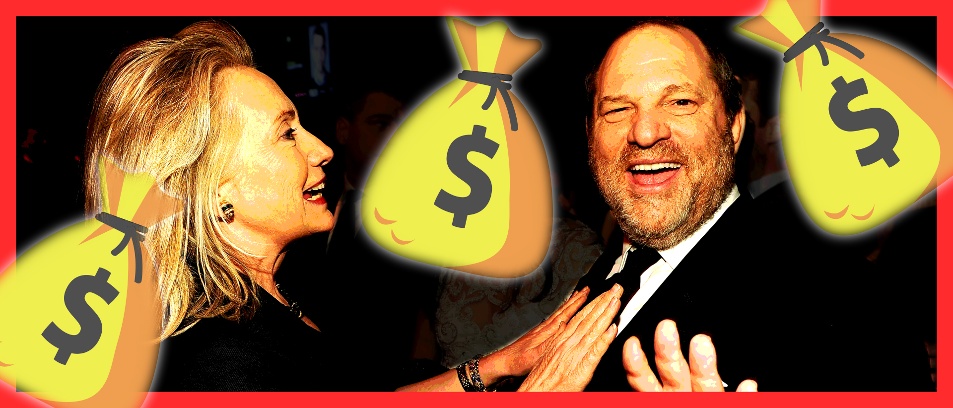 Harvey Weinstein Donated So Much To Hillary Clinton, It Would Make Even Bill Blush