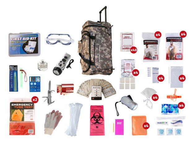A four-person kit (Photo via Outbreak)