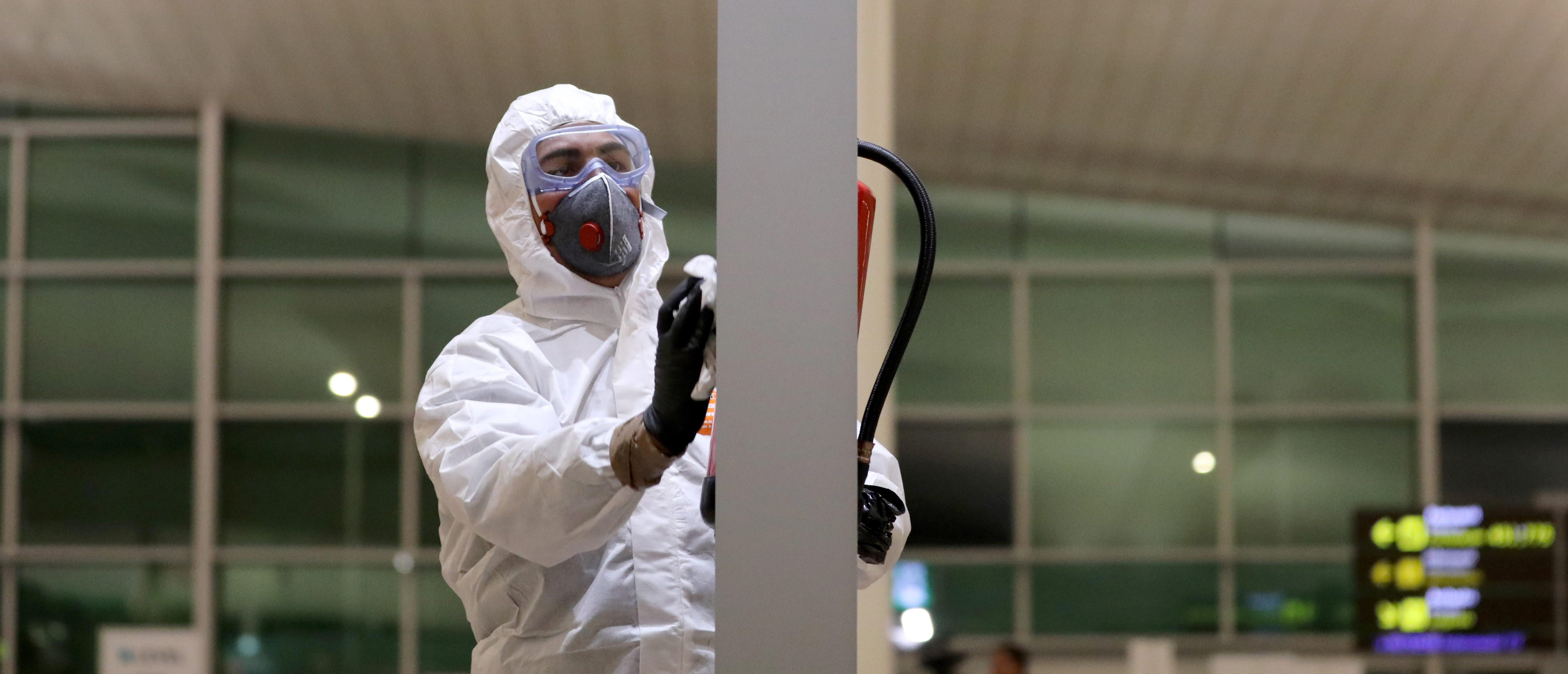 Partial lockdown as part of a 15-day state of emergency to combat the coronavirus disease (COVID-19) outbreak in Barcelona