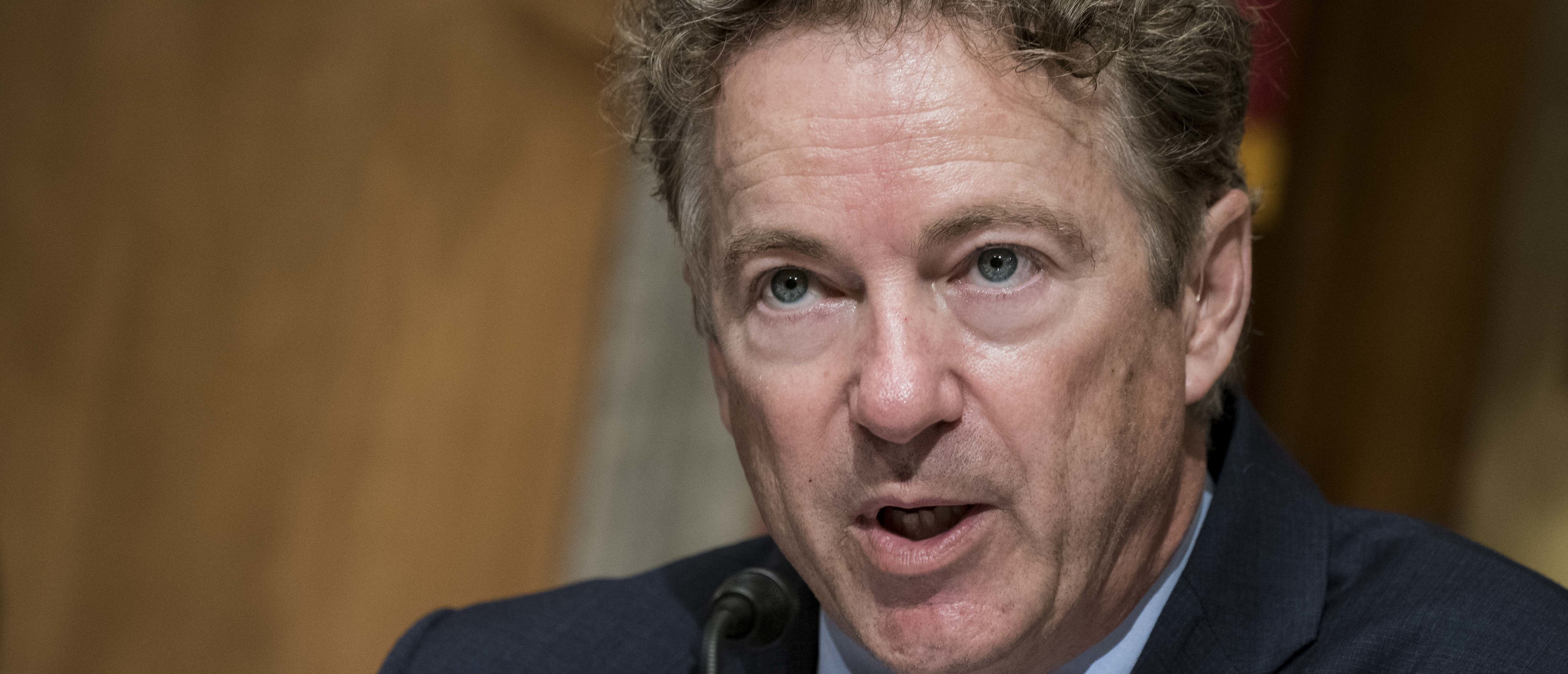Rand Paul tests positive for coronavirus — first known senator to test positive