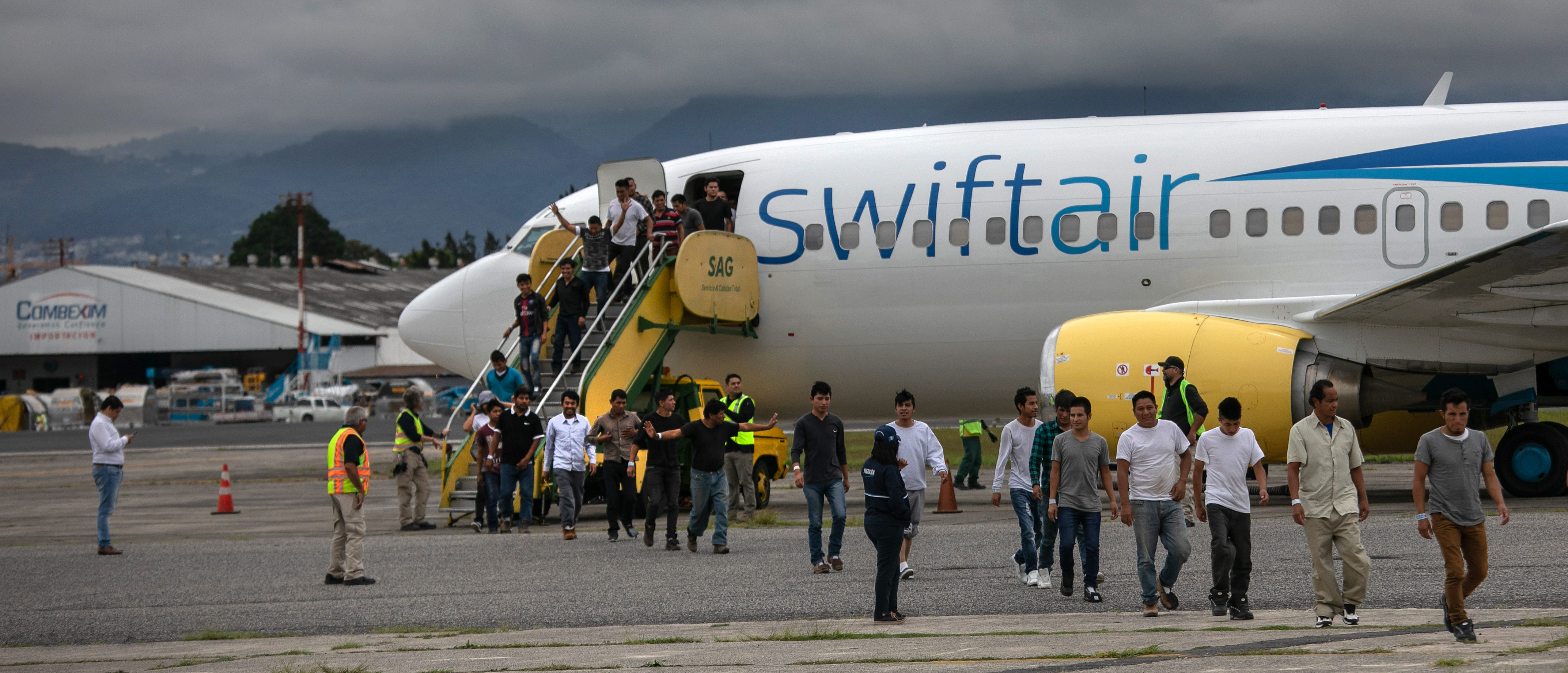 Deportees Arrive In Guatemala From The United States (John Moore/Getty Images)