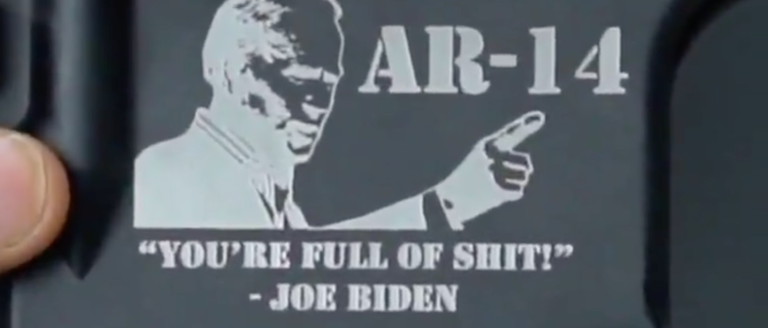 Union Worker Who Tussled With Joe Biden Has A Message For Him — And Anyone Coming For The AR-14s