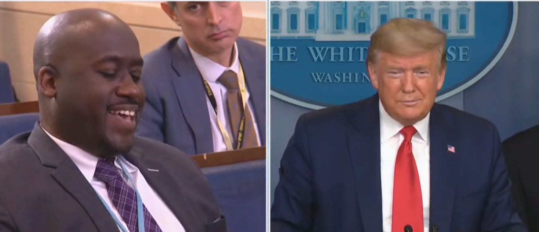 'How's Michael Doing? Good?': Bloomberg Reporter Laughs When Trump Asks About His Boss On Live TV