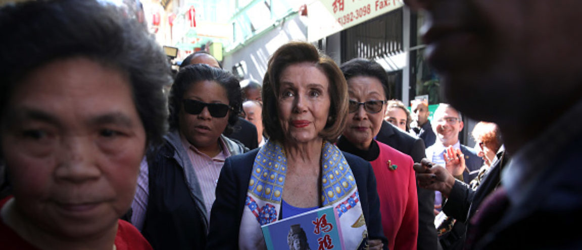 FLASHBACK Feb. 24: Pelosi Stands In San Francisco's Chinatown And Urges People To Come Out
