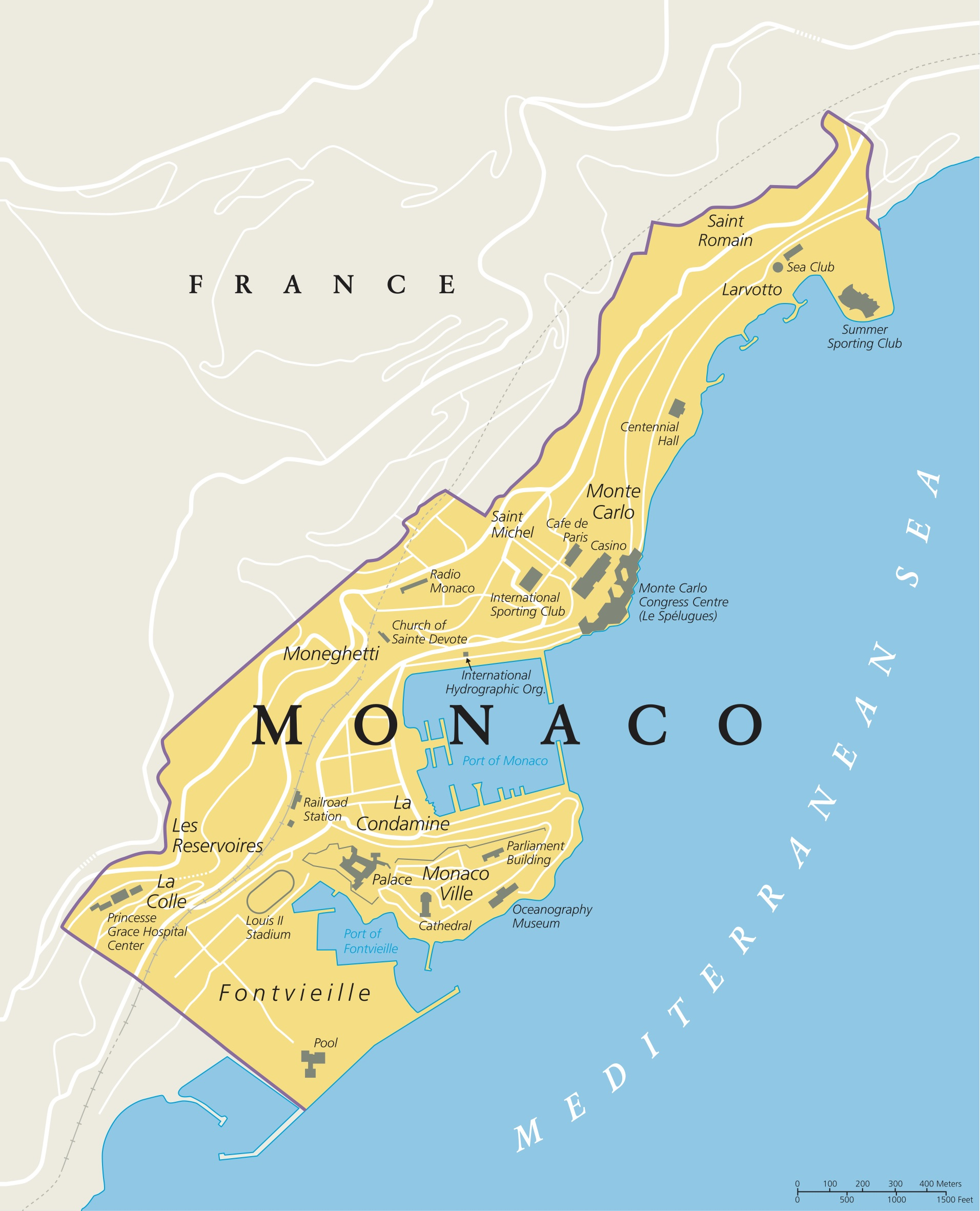 Monaco is known for attracting the world's wealthiest individuals who indulge in the small nation's lavish amenities and lack of wealth taxes. (Shutterstock/Peter Hermes Furian)