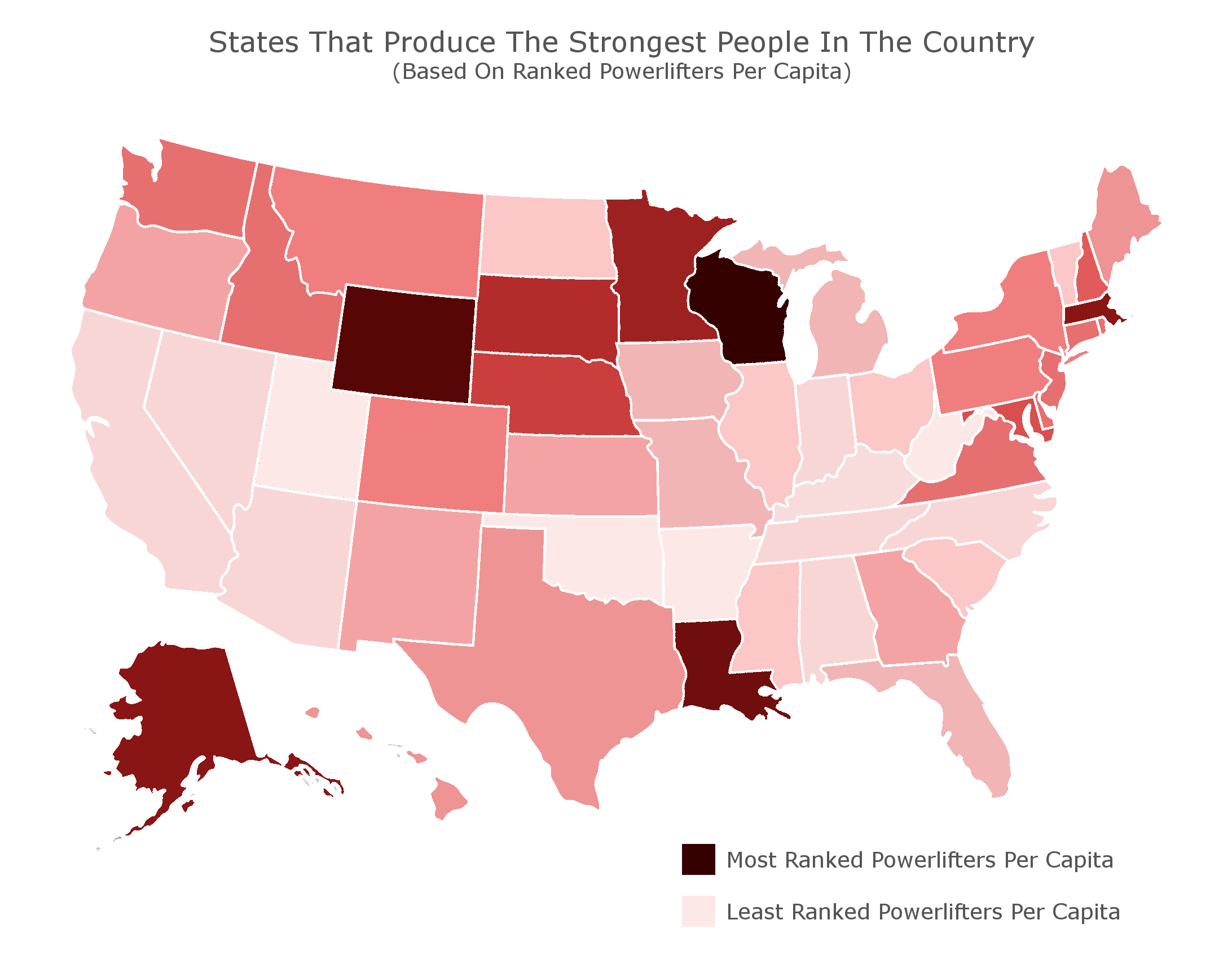 Strongest States (Credit: BodyNutrition)