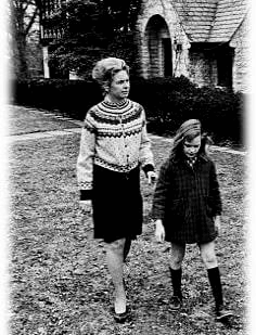 Schlaffly and her daughter Anne. Photo courtesy of Eagle Forum.