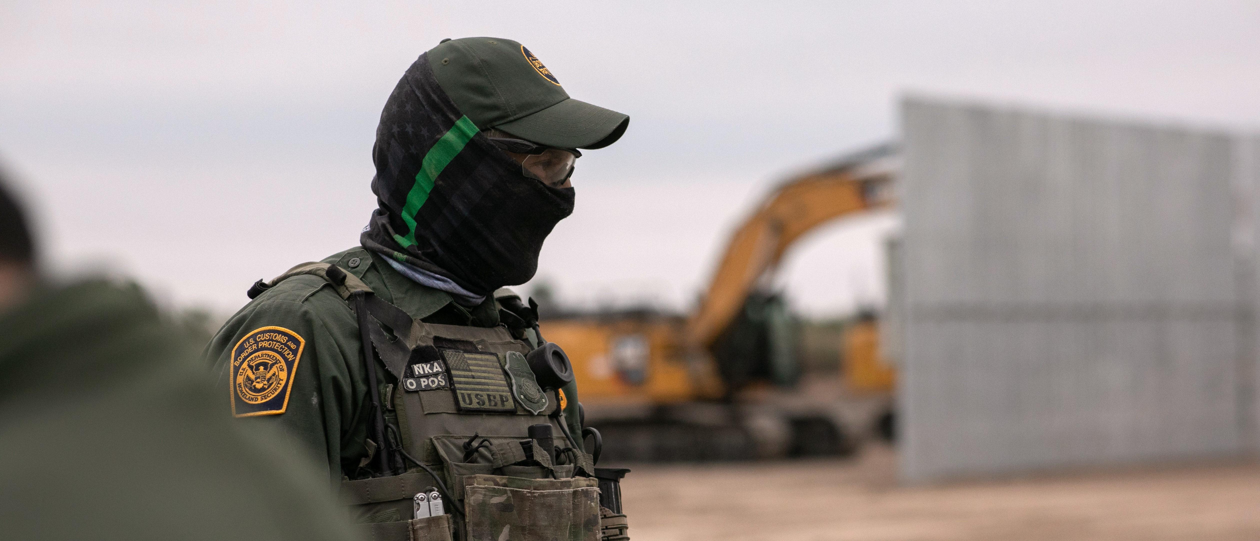 US Border Agents Patrol Rio Grande Valley As Migrant Crossings Drop