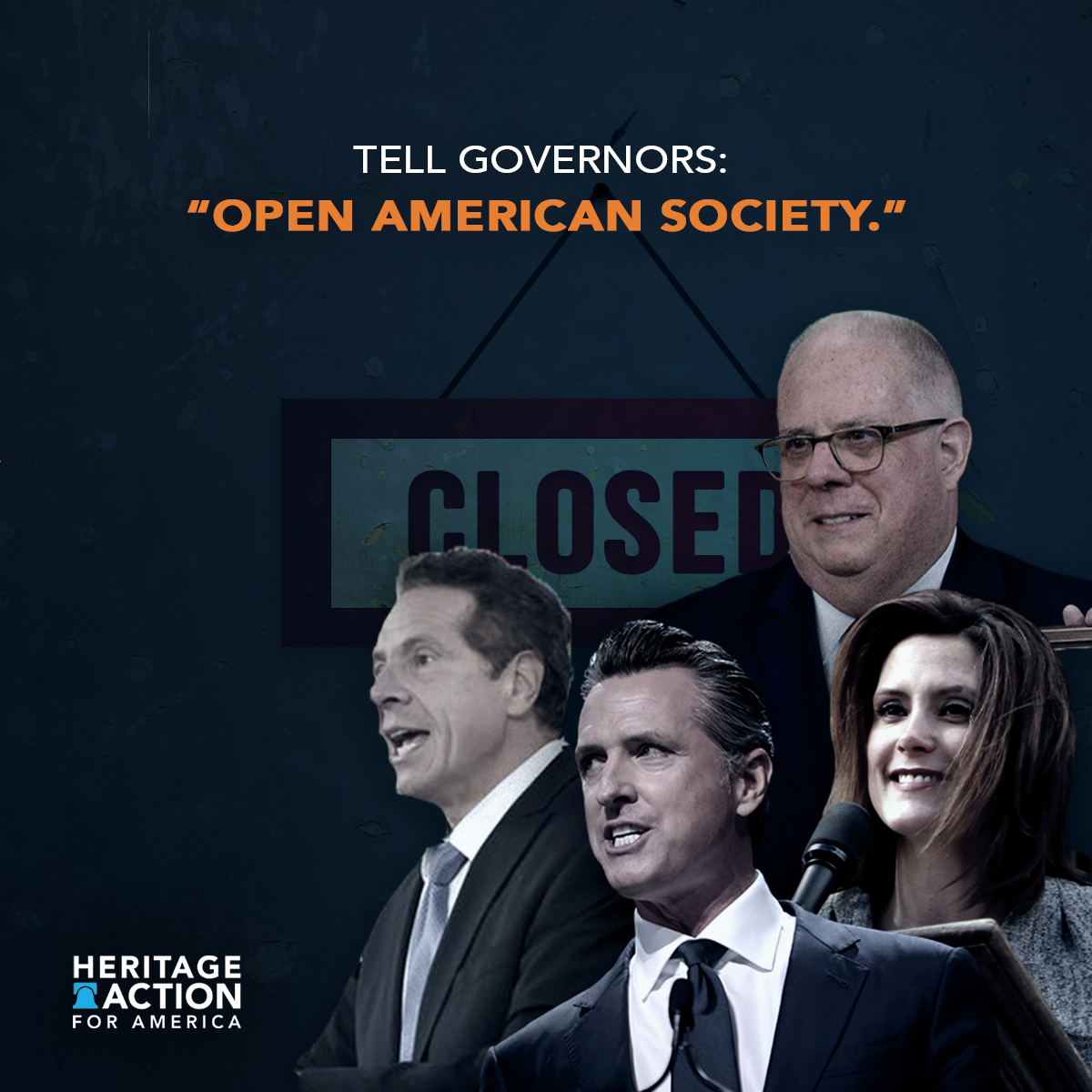 Campaign advertisement. Provided by Heritage Action