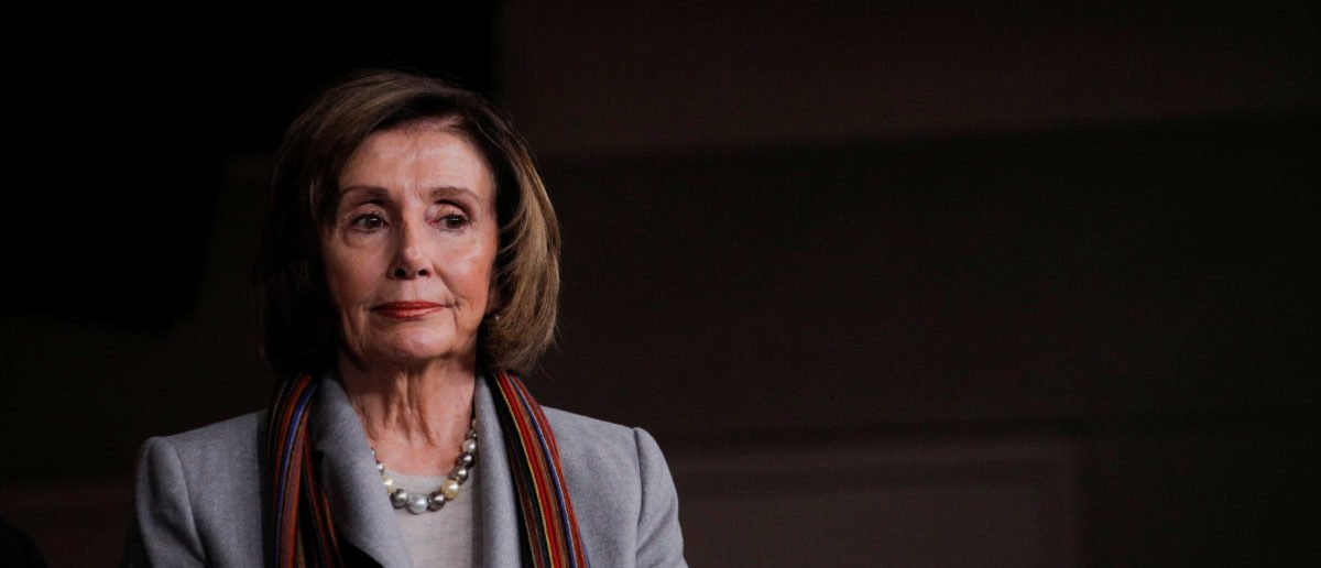 U.S. Speaker of the House Nancy Pelosi holds a news conference to unveil a $760 billion infrastructure spending bill proposed by House Democrats at the U.S. Capitol in Washington, U.S., January 29, 2020. REUTERS/Brendan McDermid