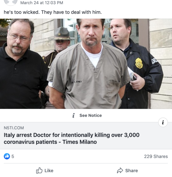 Facebook/Screenshot