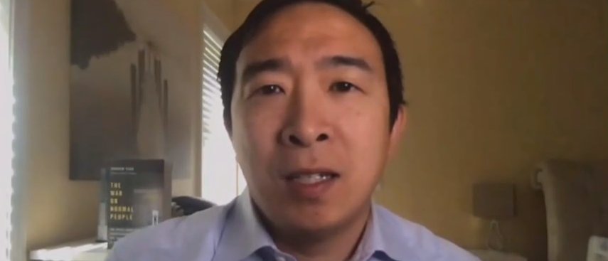 '42 Percent Of These Jobs Won't Come Back': Andrew Yang Predicts Permanent Job Loss Could Be 'Almost Two Times The Great Recession'