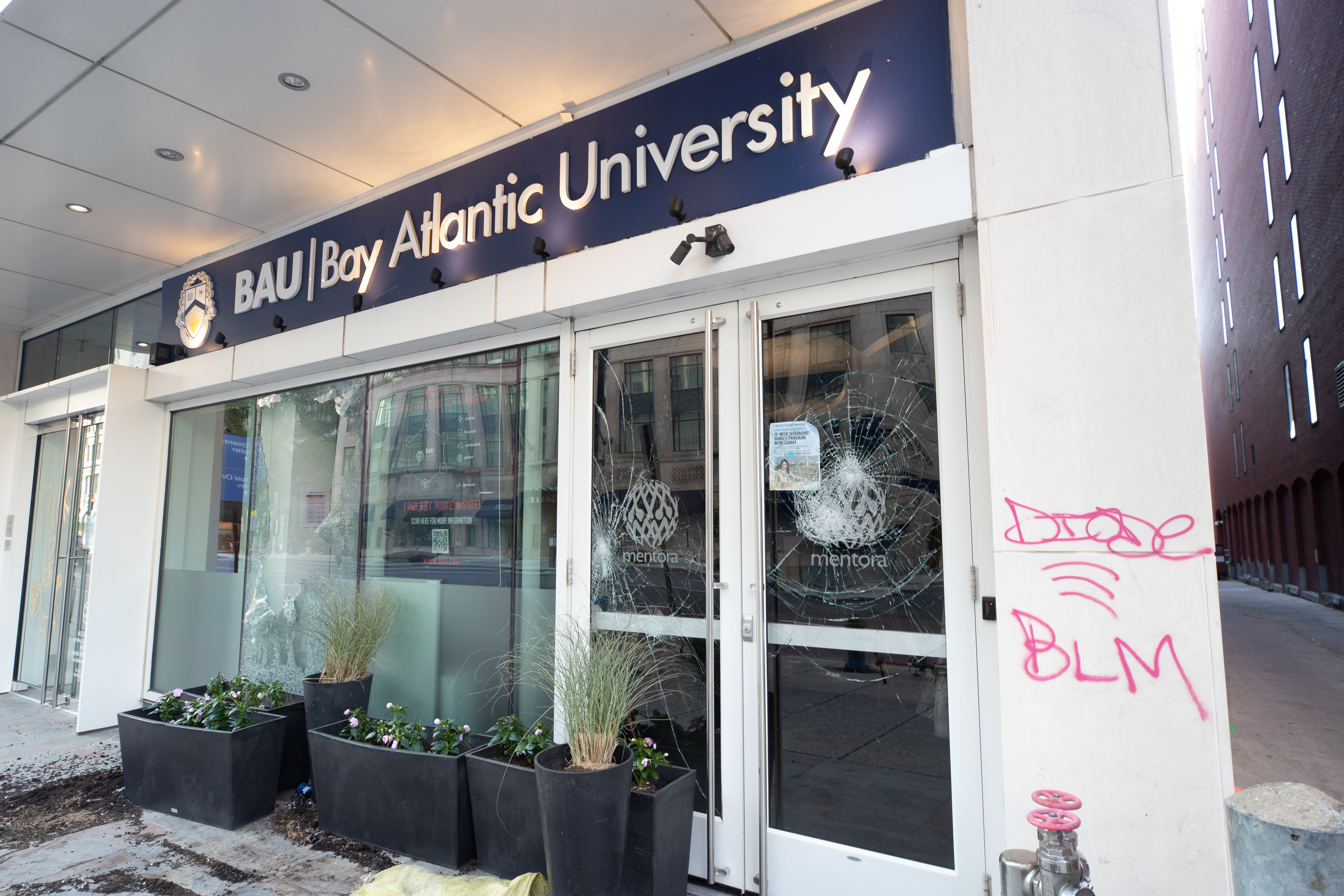 Bay Atlantic University on 15th St. NW. (Photo: Kaylee C. Greenlee for The Daily Caller)