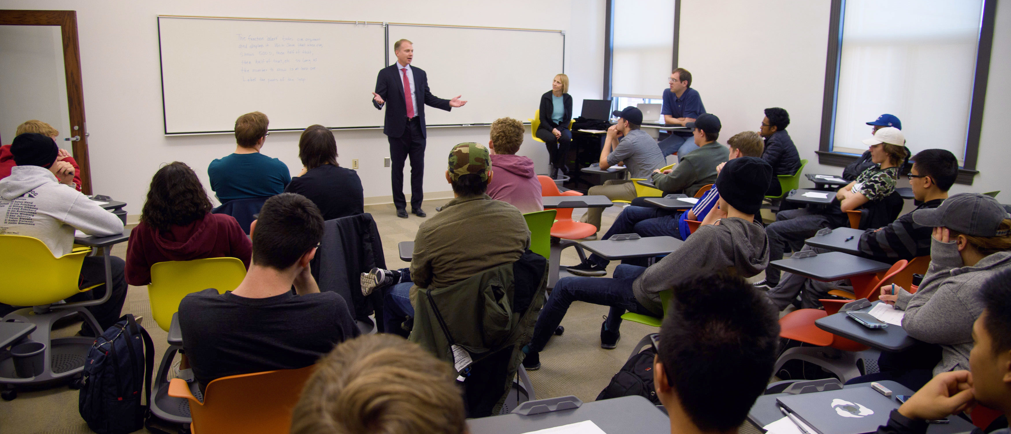 University of Nebraska-Lincoln and Nebraska Alumni Association acknowledges Brian Vaske, CEO of ITI Data, as a 2017 Alumni Master