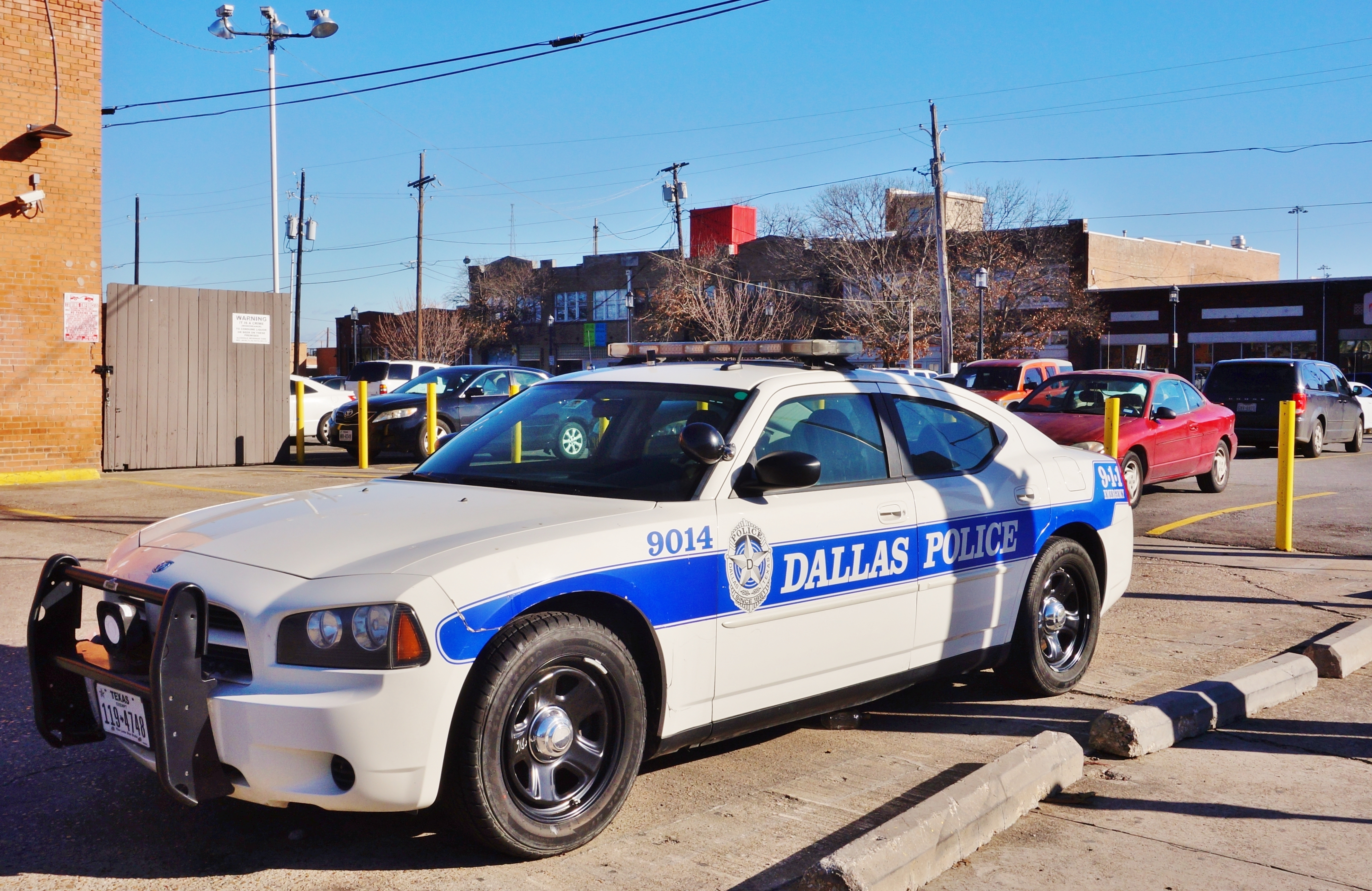 Dallas Police. Shutterstock image by EQRoy