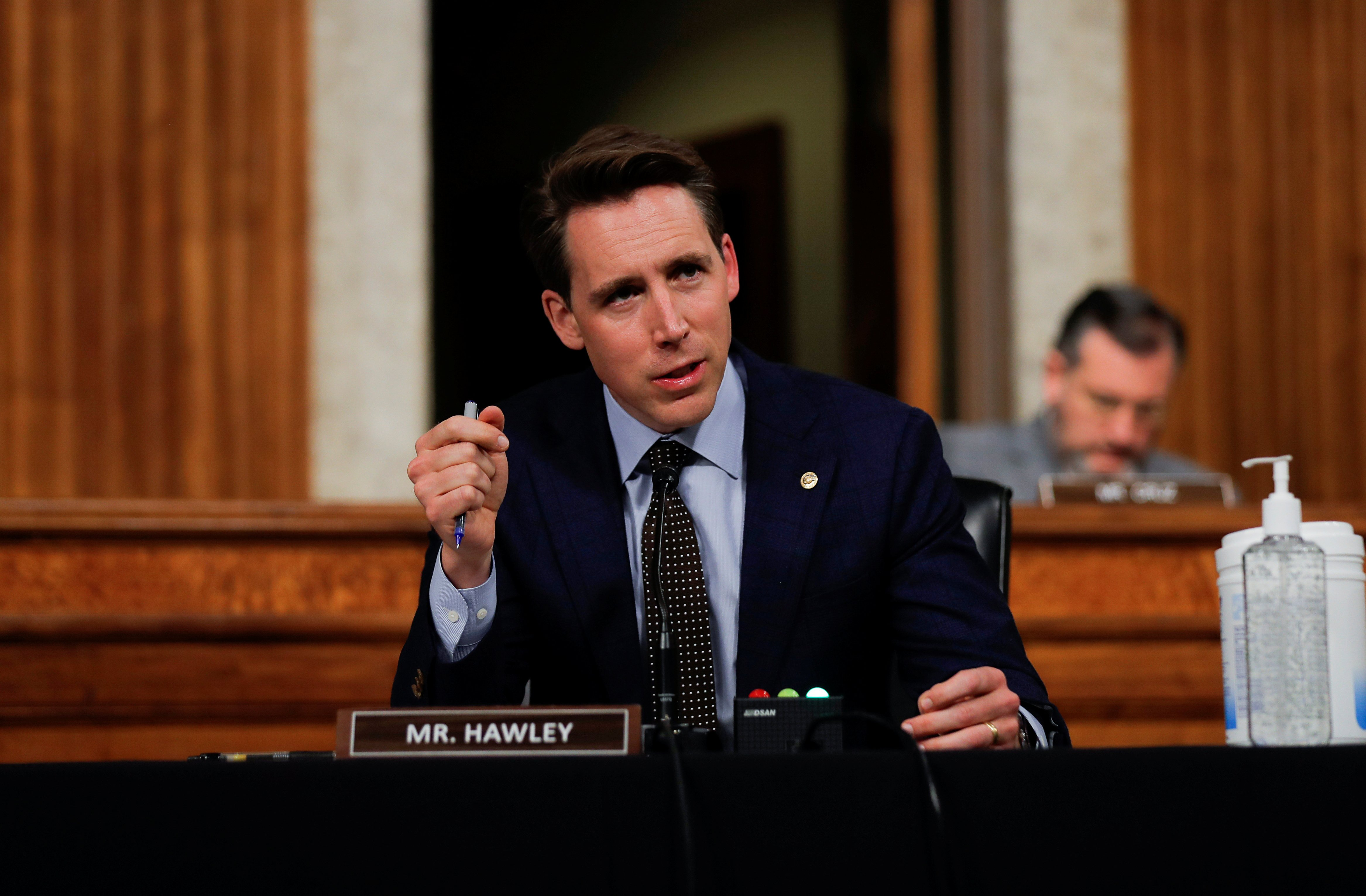 EXCLUSIVE Sen Josh Hawley Says China U2019s National Security