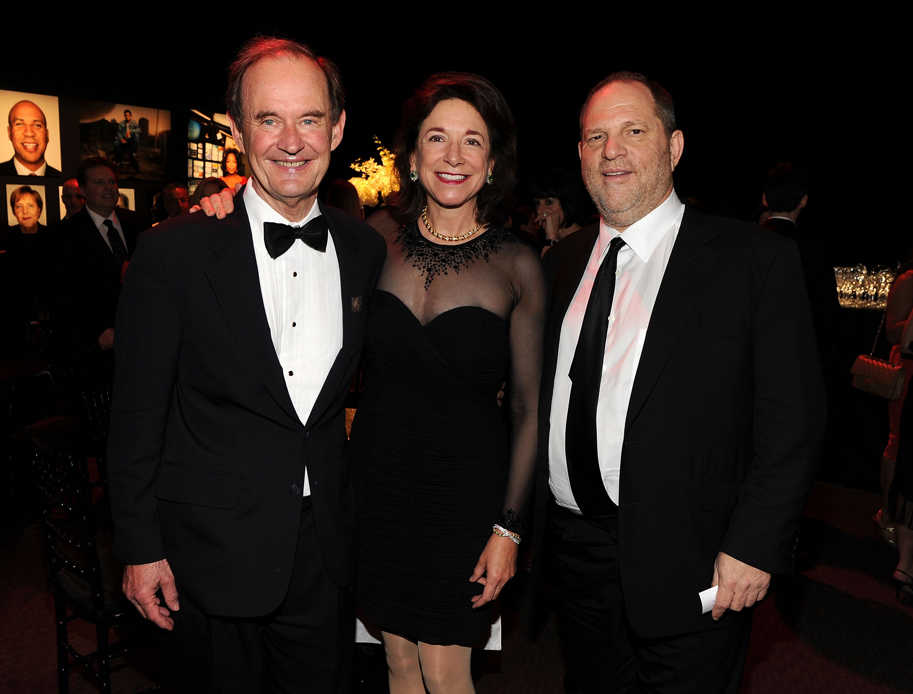 NEW YORK, NY - APRIL 26: David Boies and Mary Boies and Harvey Weinstein attends the TIME 100 Gala, TIME'S 100 Most Influential People In The World at Frederick P. Rose Hall, Jazz at Lincoln Center on April 26, 2011 in New York City. (Photo by Larry Busacca/Getty Images for Time Warner)