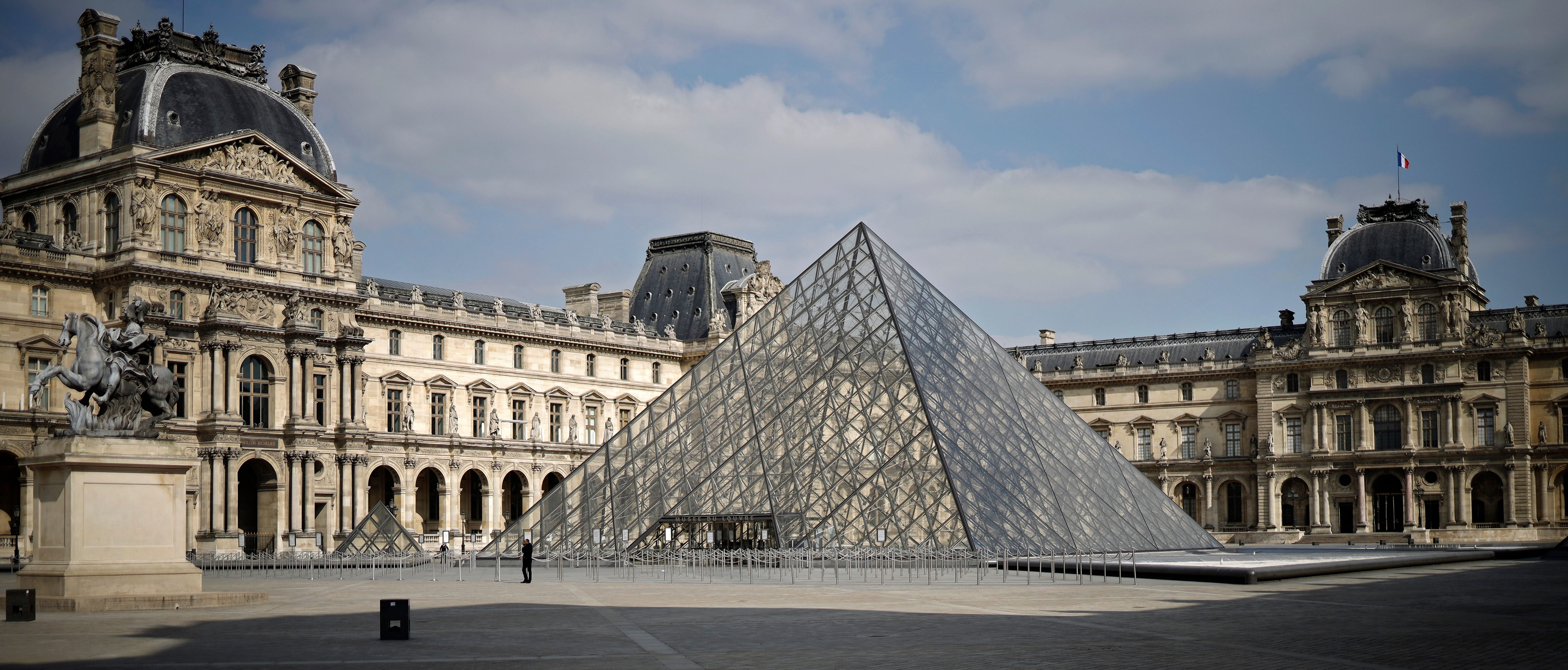 Paris World-Famous Louvre Museum Set To Reopen Amid...