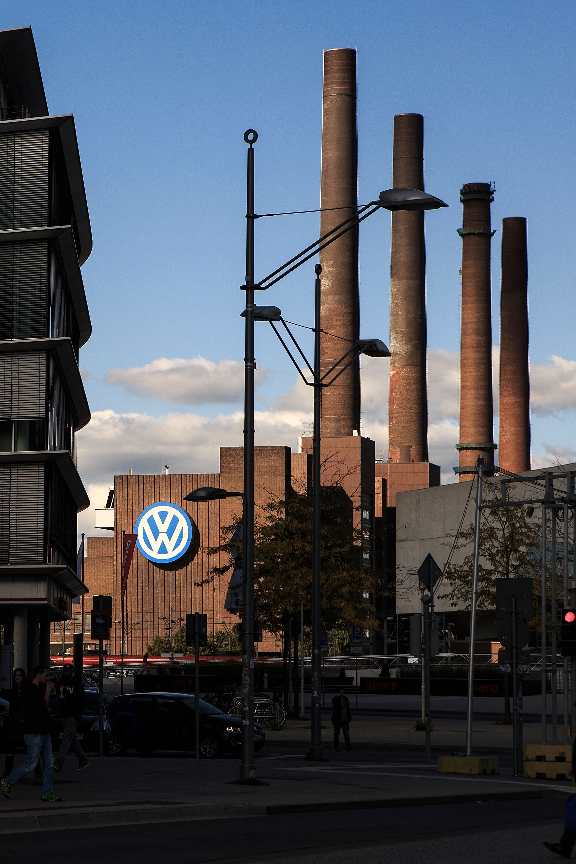 The factory of German carmaker Volkswagen on September 28, 2015 in Wolfsburg, Germany. Wolfsburg was initially built by authorities under Nazi Germany to house workers and the factory that would produce the
