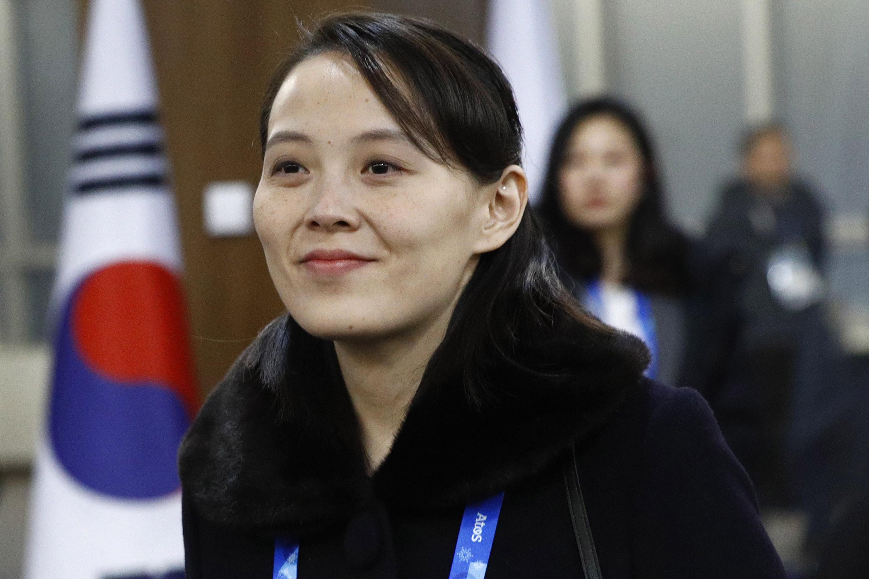 PYEONGCHANG-GUN, SOUTH KOREA - FEBRUARY 09: (EDITORS NOTE: Alternate crop of #916122914) Kim Yo Jong, sister of North Korean leader Kim Jong Un, arrives at the opening ceremony of the PyeongChang 2018 Winter Olympic Games at PyeongChang Olympic Stadium on February 9, 2018 in Pyeongchang-gun, South Korea. (Patrick Semansky - Pool /Getty Images)