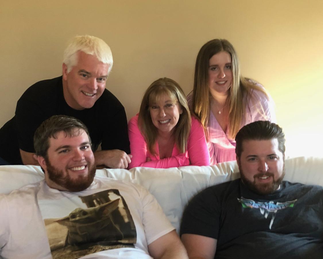 Novak's family. Photo courtesy of Rick Novak.