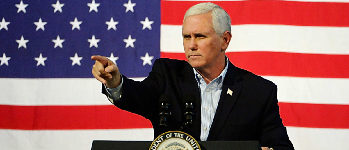 'Life Is Winning In America': Mike Pence Becomes First Sitting VP To Visit Pro-Life Pregnancy Center