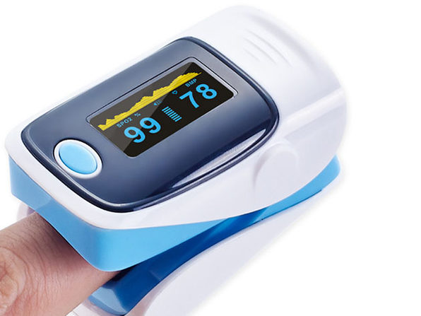 Check Your Blood Oxygen Levels At Home With...