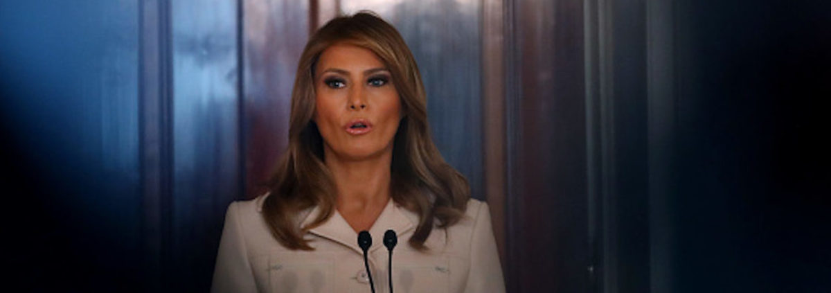 First Lady Melania Trump Weighs In On George...
