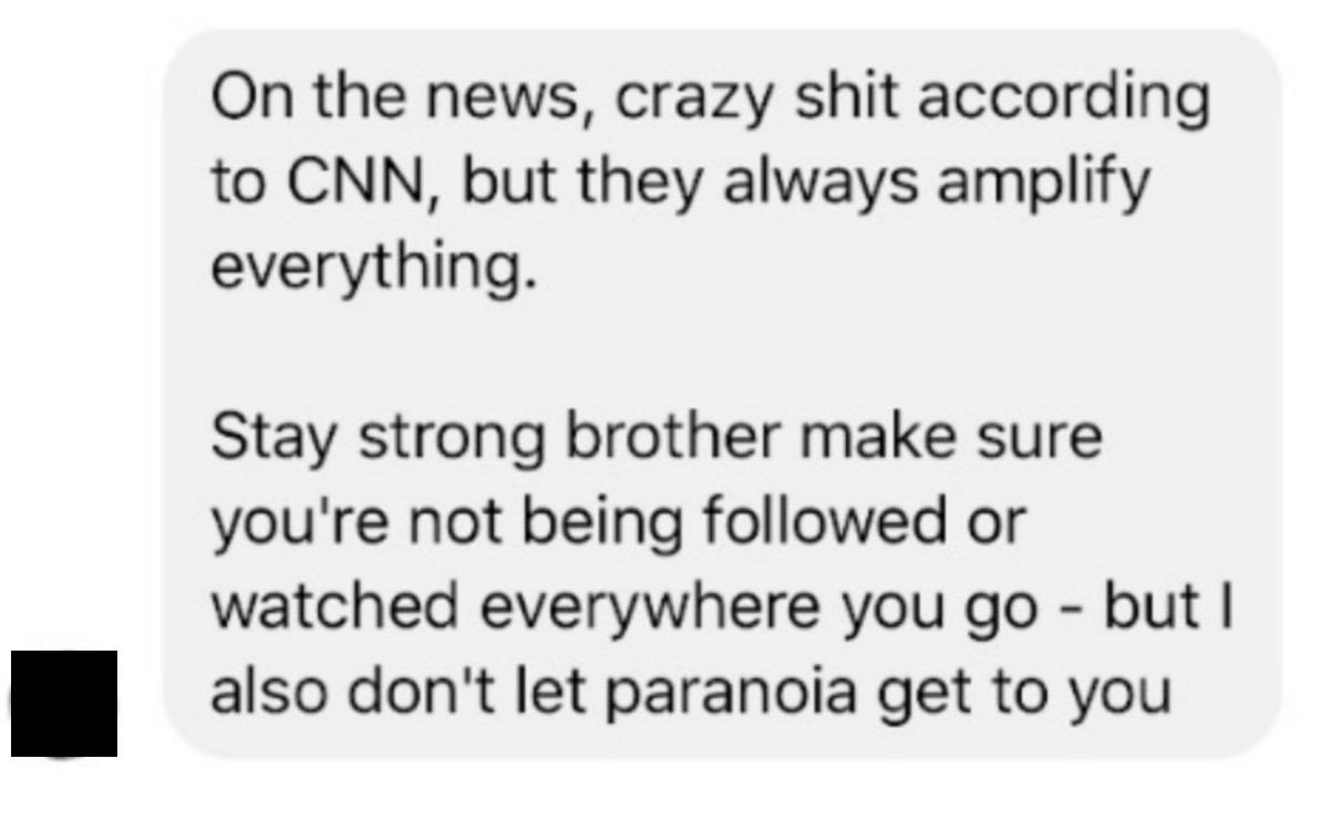 Facebook message sent to George Papadopoulos, March 15 2017. (Sceenshot courtesy George Papadopoulos)