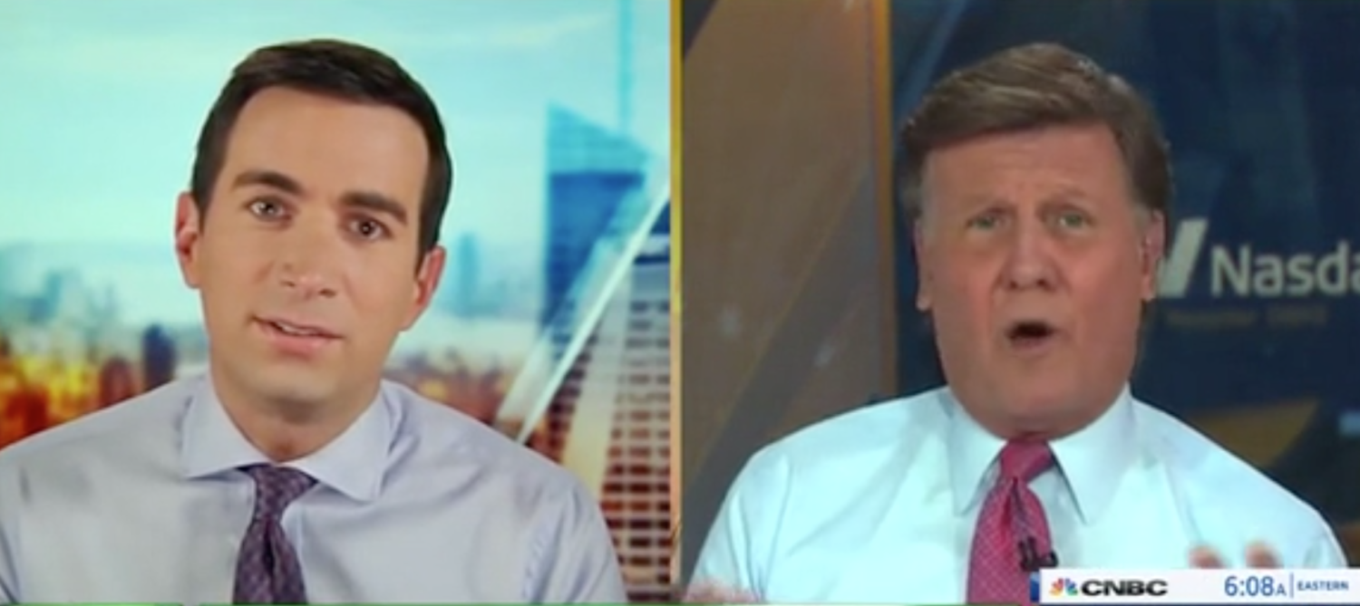 Andrew Ross Sorkin: `Squawk Box` Hosts Go At It In...