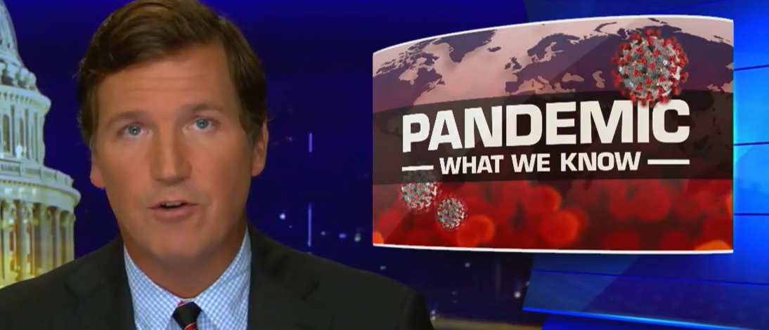 'China Won': Tucker Carlson Details 'Uncomfortable Facts' About Coronavirus Response In 15-Minute Opening Monologue