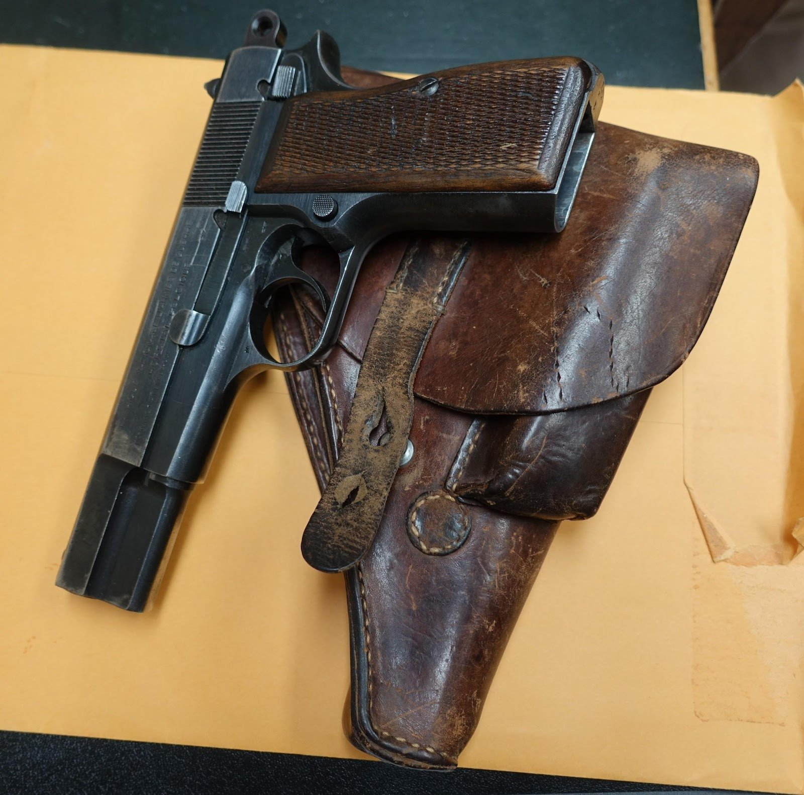 The gun Langrehr took from a Nazi who had killed his friend. (Photo provided to the Daily Caller by Henry Langrehr)