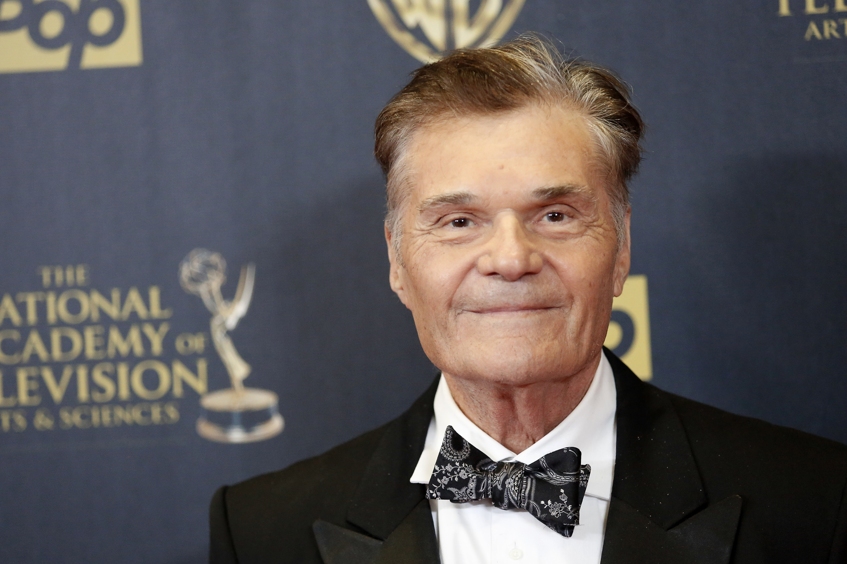 Actor Fred Willard poses backstage at the 42nd Annual Daytime Emmy Awards in Burbank, California April 26, 2015. REUTERS/Patrick T. Fallon