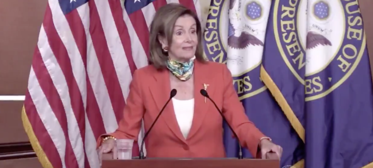Pelosi Accidentally Calls George Floyd 'George Kirby' During Press Conference