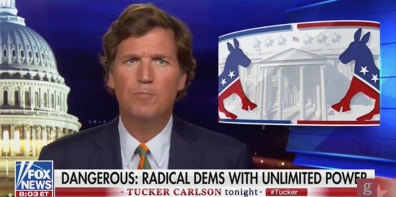 "Screenshot/""Tucker Carlson Tonight""/Fox News"