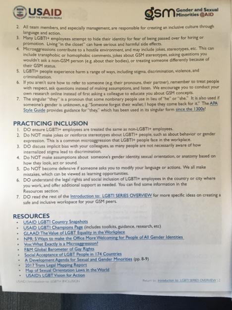 USAID Documents