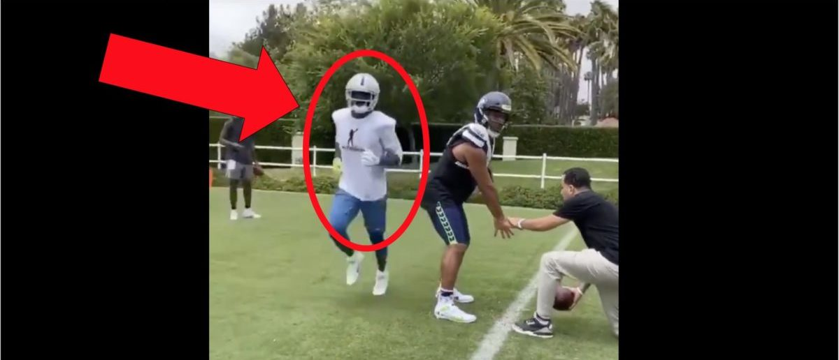 Antonio Brown Works Out With Russell Wilson