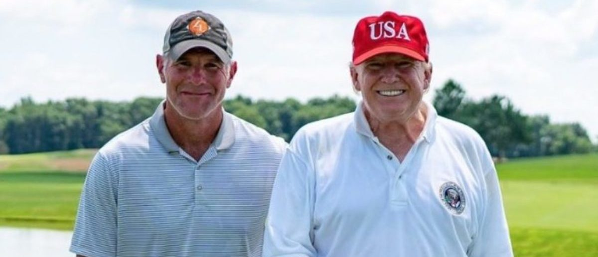 Brett Favre Endorses President Donald Trump, Says His 'Vote Is For What Makes This Country Great'